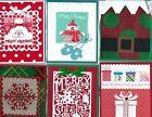 Handmade CHRISTMAS GIFT CARD/MONEY HOLDERS #C$-17--Lot of 6