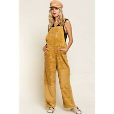 Camouflage Corduroy Womens Overalls
