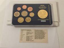 Coffret série euro neuve Portugal + 1 médaille Europe 2003