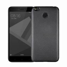 Shockproof Slim Carbon Fiber Silicone Cover Soft Rubber Case For Xiaomi Redmi 4X