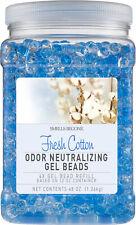 SMELLS BEGONE Odor Eliminator Gel Bead Refill - 48 Ounce - Fresh Cotton Scent