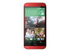 HTC  One M8 - 16GB - Rot (Ohne Simlock) Smartphone #V044