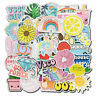 50 Pcs Vinyl Cute Vsco Sticker for Luggage Laptop Guitar Water Bottle Decal Pack