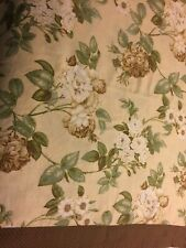 1 Waverly Floral  Roses Shower Curtain
