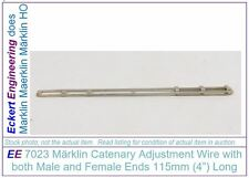 """EE 7023 NEW Marklin HO Catenary 115mm 4"""" Wire Male and Female Ends 7023N"""