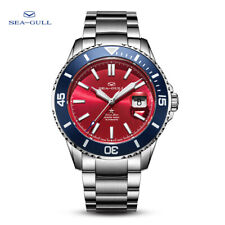 Seagull Ocean Star Automatic Men's Diving Swimming Watch Red Dial 816.52.1206