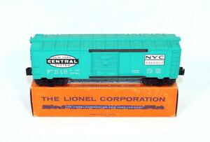 Postwar Lionel 6464-900 New York Central Boxcar~All Original~w/Nice OB