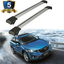 USA Aluminum Universal Roof Rail Rack Cross Bars Cargo Luggage Carrier Crossbars