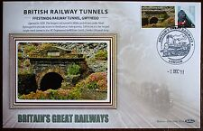 2011 Limited Edition Benham  Railway Train Tunnel Cover - Ffestiniog Railway