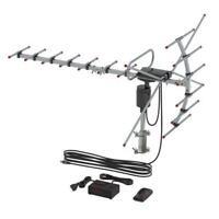 110 Miles HDTV Outdoor Amplified Antenna HD TV Directional UHF/VHF Antenna UV