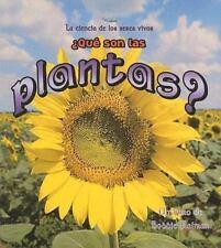 Que Son Las Plantas? (Ciencia de los Seres Vivos (Paperback)) (Spanish Edition),