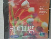 """""""The Spring Collection"""" Inc Vivaldi Four Seasons Classic Fm CD. BRAND NEW SEALED"""