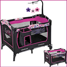 Baby Bassinet Crib Infant Nursery Center Bed Playard Sleeper Cradle Playpen