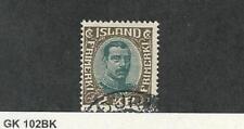 Iceland, Postage Stamp, #127 Used, 1921, JFZ