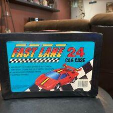 """1990 Geoffrey Inc. Toys """"R"""" Us 24 Car Case Diecast Fast Lane Hot Wheels Matchbox"""