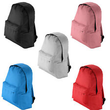 Boys Girls Retro Backpack Rucksack School College Travel Laptop Work Bag
