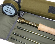 Loop Multi 7' 4 piece graphite travel dry fly rod #4/5 with bag & tube