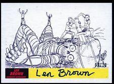 2017 Topps Mars Attacks The Revenge AUTO/Autograph Card P-43 #09/10 - LEN BROWN
