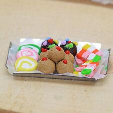 Fairy Cakes ~ Miniature Cake Tray Fairy Garden Handmade Miniature by Jennifer