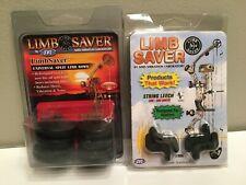 New listing LIMBSAVER SVL Vibration Dampeners for Split Limb Compound Bow & String Leech LOT