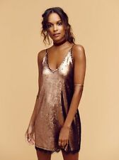 Intimately Free People Seeing Double Sequin Slip-XS