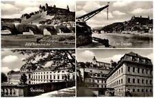 Würzburg Bayern alte Mehrbildkarte 1958 Residenz Mainbrücke Jugendherberge u.a.