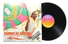 SAMBAS DE ENREDO Das Escolas De Samba LP Top Tape 5036024 Brazil 1980 VG+