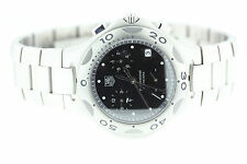 Tag Heuer Kirium Chronograph Black Dial CL 1110 - 0 Stainless Steel Wrist Watch