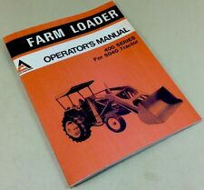 Allis Chalmers 400 Farm Loader For 5040 Tractor Operators Owners Manual Assembly