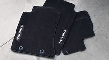 GENUINE FACTORY TOYOTA TACOMA DOUBLE CAB CHARCOAL GREY CARPET FLOOR MATS