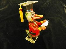 Vntg NIB Dr Duck Tin Wind-up Toy Fully Functional! Made in China by BLIC