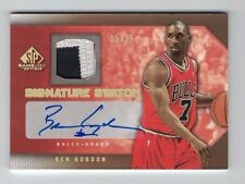 BEN GORDON 2007-08 UD SP Game Used PATCH AUTO #15/15 = ebay 1/1 Signature Swatch