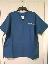 New Frontline Plus Xl Scrub Top-Blue