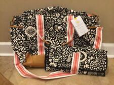 NEW Pottery Barn Kids Baby Margherita Missoni Diaper Bag Geo BLACK
