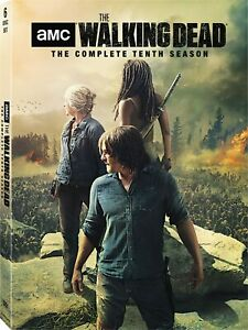 THE WALKING DEAD > The Complete Tenth Season (DVD) 6-Discs / 7-20-21 NEW!