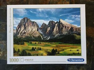 Clementoni - Puzzle 1000 Pièces - Complet - En Boite - paysage Montagne