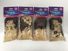Super Pet Bird Forage Fill Brown Lot of 4 (New)