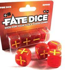 FATE CORE DICE: FIRE DICE    dice for your fate & fudge games
