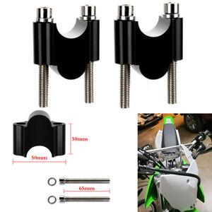 "7/8"" Handlebar Risers 22mm Height for Kawasaki Z125 KLR650 Ninja 650R Z800"