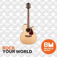 Takamine G90 Series NEX Ac/el Guitar Cutaway Natural 3 PCE Back TGN93CENAT