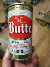 Very Nice Butte Special Quality 12 Oz. Flat Top Beer Can Butte Brewing Montana