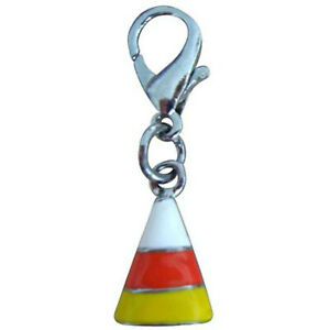 Mirage Pet Products Halloween Lobster Claw Charms/Zipper Pulls Candy Corn