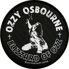 "OZZY OSBOURNE PATCH / AUFNÄHER # 26 ""BLIZZARD OF OZZ"""