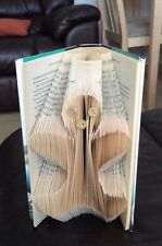 Gingerbread Man Folded Book Art Folding PATTERN ONLY #041