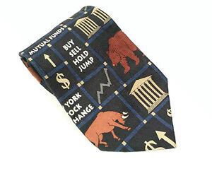 VTG 1998 Stockbroker Squares stocks Dow Jones NASDAQ stock exchange Bulls Bears