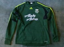 Portland Timbers Adidas Pullover Jacket: Mens Large