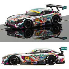 SCALEXTRIC Slot Car C3852 Mercedes AMG GT3 (Anime)