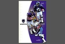 Rare Baltimore Ravens 2000 NFL Poster - Shannon Sharpe, Jermaine & Jamal LEWIS