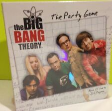 The Big Bang Theory / The Party Game 2012 New, Sealed, Mint
