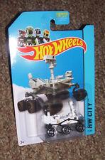HOT WHEELS Mars Rover Curiosity NASA vehicle 71/250 HW City 2014 BLUE CARD
